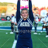 Blue Ace Cheerleaders - Johnstown High School Johnnies at Granville High School Blue Aces - The 106th Meeting in The Battle for The Jug - Friday, September 25, 2020