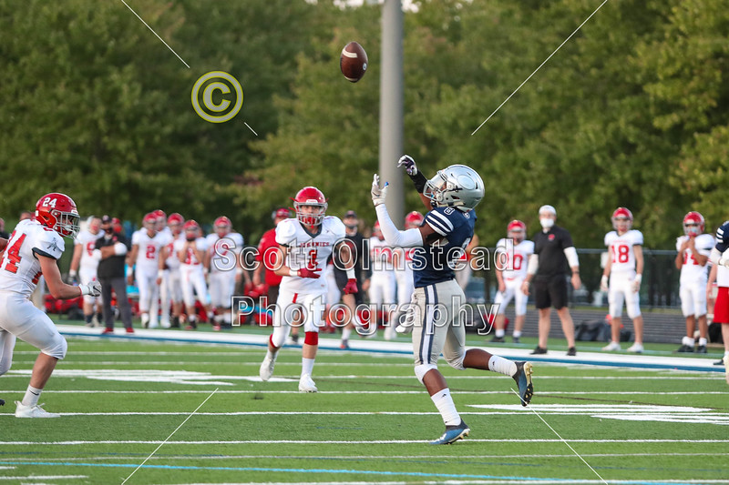1st Quarter - Johnstown High School Johnnies at Granville High School Blue Aces - The 106th Meeting in The Battle for The Jug - Friday, September 25, 2020