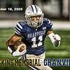 Senior Night - Watkins Memorial High School Warriors at Granville High School Blue Aces - Friday, September 18, 2020