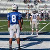Team Captains and the Coin Toss - Junior Varsity - Zanesville High School Blue Devils at Granville High School Blue Aces - Saturday, September 5, 2020