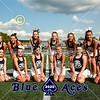 Blue Ace Cheerleaders - 7th Grade Football - Johnstown Middle School Johnnies at Granville Middle School Blue Aces - Wednesday, September 9, 2020