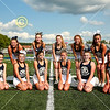 Blue Ace Cheerleaders - 8th Grade Football - Johnstown Middle School Johnnies at Granville Middle School Blue Aces - Wednesday, September 9, 2020