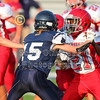 1st Quarter - 8th Grade Football - Johnstown Middle School Johnnies at Granville Middle School Blue Aces - Wednesday, September 9, 2020