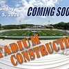 New Stadium in Progress - Granville High School is located in Granville, Ohio, and Home to The Blue Aces - Sunday, July 5, 2020