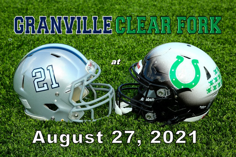 Granville High School Blue Aces at Clear Fork High School Colts - Friday, August 27, 2021