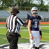 Team Captains and the Coin Toss - Junior Varsity - Granville High School Blue Aces at Whitehall High School Rams - Saturday, August 21, 2021