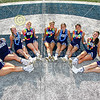 Senior Blue Ace Cheerleaders - Whitehall High School Rams at Granville High School Blue Aces - Friday, August 20, 2021