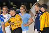 Team Captains - OHSAA State Tournament - Marion River Valley High School Vikings at Granville High School Blue Aces - Wednesday, October 21, 2015