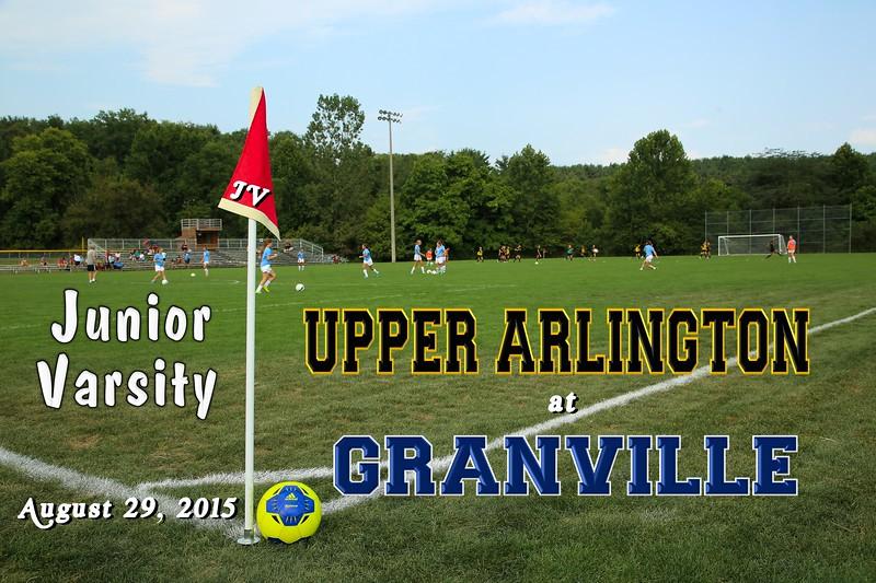 Upper Arlington High School Golden Bears at Granville High School Blue Aces - Junior Varsity - Saturday, August 29, 2015