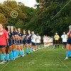 The National Anthem - Senior Night - Bishop Hartley High School Hawks at Granville High School Blue Aces - Tuesday, September 8, 2020