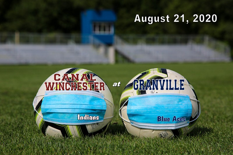 Canal Winchester High School Indians at Granville High School Blue Aces - Friday, August 21, 2020