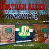 O.H.S.A.A. District Championship - Jonathan Alder High School Pioneers at Granville High School Blue Aces - Saturday, October 31, 2020