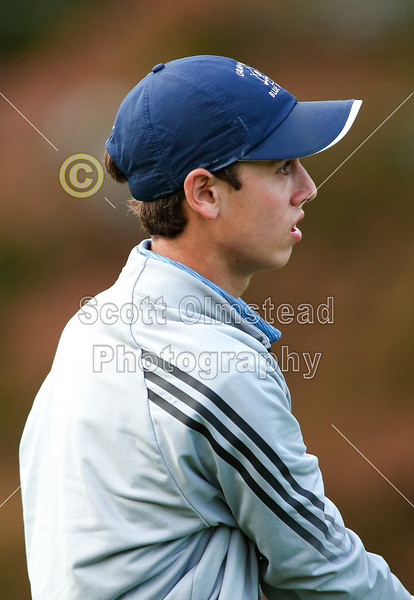 Bloom-Carroll High School Bulldogs versus Granville High School Blue Aces Played at the Denison Golf Club at Granville - Thursday, October 1, 2015