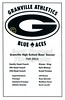 Game Program - Thursday, October 6, 2011 - Columbus Academy Vikings at Granville Blue Aces