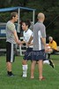 Team Introductions - Thursday, September 8, 2011 - Lakewood Lancers at Granville Blue Aces