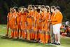 Team Introductions - Heath High School Bulldogs at Granville High School Bulldogs - OHSAA State Tournament - Thursday, October 22, 2015