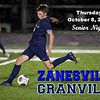 Zanesville High School Blue Devils at Granville High School Blue Aces - Senior Hight - Thursday, October 8, 2020