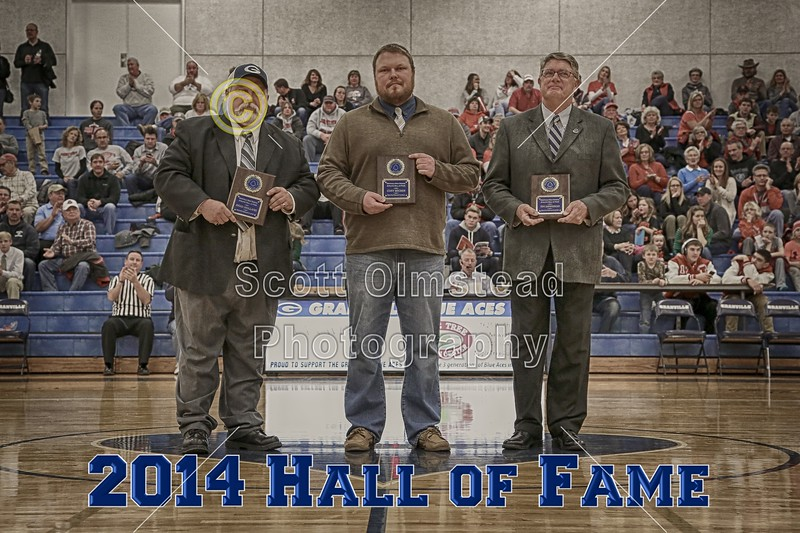 Inductees include Cory Becher (2009) lettering in Football, Basketball and Track - Tim Dennison, Teacher and Athletic Director as well as Girls' and Boys Tennis Coach - Brad Holland  (1976) lettered in Football and Wrestling - Friday, February 6, 2015