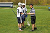 Team Captains and the Coin Toss - Saturday, April 27, 2013 - Kent Roosevelt Rough Riders at Granville Blue Aces