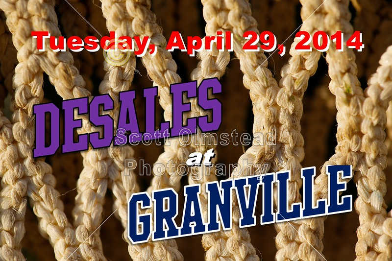 Tuesday, April 29, 2014 - Columbus St. Francis DeSales Stallions at Granville Blue Aces Columbus St. Francis DeSales Stallions at Granville Blue Aces - Tuesday, April 29, 2014