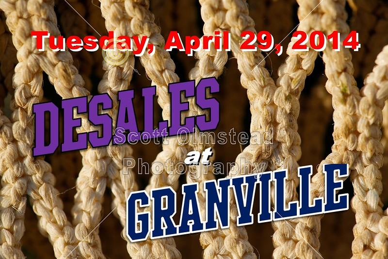 Tuesday, April 29, 2014 - Columbus St. Francis DeSales Stallions at Granville Blue Aces Columbus St. Francis DeSales Stallions at Granville Blue Aces - Tuesday, April 29, 2014