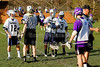 Team Captains and the Coin Toss - Columbus St. Francis DeSales Stallions at Granville Blue Aces - Tuesday, April 29, 2014