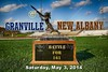 Saturday, May 3, 2014 - Granville Blue Aces at New Albany Eagles for the Annual Battle For 161