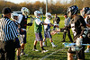 Team Captains and the Coin Toss - Pickerington North Panthers at Granville Blue Aces - Wednesday, April 23, 2014