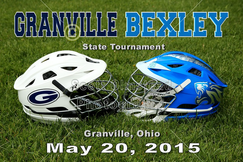 Ohio High School State Lacrosse Tournament - Bexley Lions at Granville Blue Aces - Wednesday, May 20, 2015