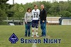 Mitch McDonough #22 - Senior Night, The Class of 2015 - Big Walnut High School Eagles at Granville High School Blue Aces - Thursday, May 14, 2015