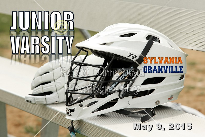JUNIOR VARSITY - Sylvanis Southview High School Cougars at Granville High School Blue Aces - Saturday, May, 9, 2105