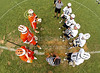 Team Captains and the Coin Toss - Sylvania Southview High School Cougars at Granville High School Blue Aces - Saturday, May 9, 2015