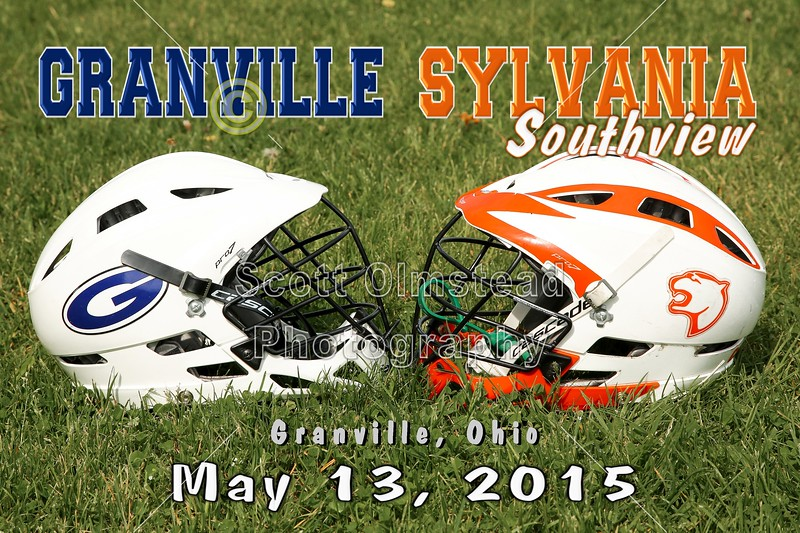Sylvania Southview High School Cougars at Granville High School Blue Aces - Saturday, May 9, 2015