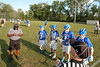 Team Captains and the Coin Toss - Bexley High School Lions at Granville High School Blue Aces - O.H.S.A.A. State Tournament - Thursday, May 19, 2016