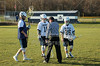 Team Captains and the Coin Toss - Buckeye Valley High School Barons at Granville High School Blue Aces - Tuesday, April 12, 2016