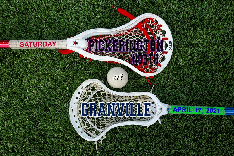 Pickerington High School North Panthers at Granville High School Blue Aces - Saturday, April 17, 2021