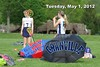 Tuesday, May 1, 2012 - Columbus Bishop Hartley Hawks at Granville Blue Aces
