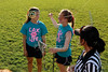 Team Captains and the Coin Toss - Wednesday, May 1, 2013 - Marysville Monarchs at Granville Blue Aces - LAX FOR LIFE