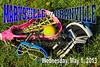 Wednesday, May 1, 2013 - Marysville Monarchs at Granville Blue Aces - LAX FOR LIFE