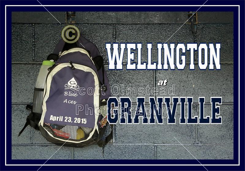 Wellington High School Jaguars at Granville High School Blue Aces - Thursday, April 23, 2015