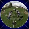 Team Captains and the Coin Toss - Wellington High School Jaguars at Granville High School Blue Aces - Thursday, April 23, 2015