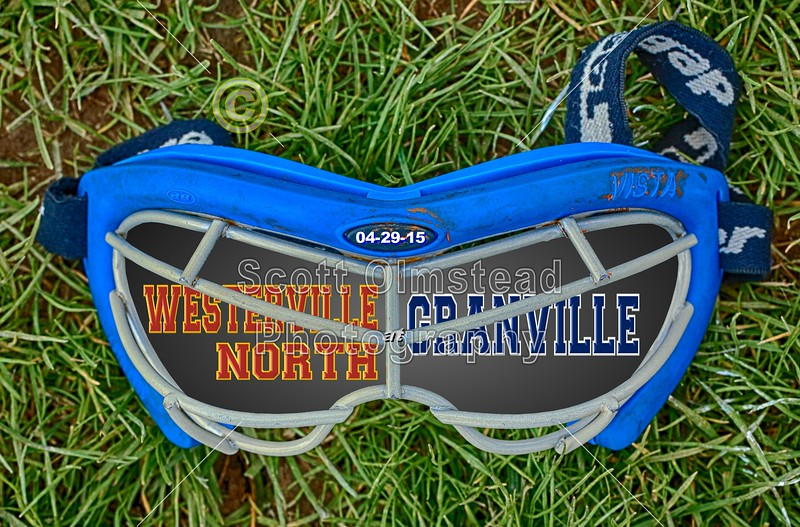 Westerville North High School Warriors at Granville High School,Blue,Aces - Monday, May 4, 2015