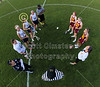 Team Captains and the Coin Toss - Westerville North High School Warriors at Granville High School,Blue,Aces - Monday, May 4, 2015