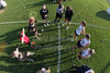 Team Captains and the Coin Toss - Columbus School for Girls High School Unicorns at Granville High School Blue Aces - Tuesday, April 19, 2016