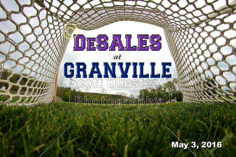 Columbus St. Francis DeSales High School Stallions at Granville High School Blue Aces - Tuesday, May 3, 2016