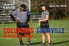 Columbus School for Girls High School Unicorns at Granville High School Blue Aces - Junior Varsity - Tuesday, April 19, 2016