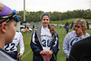 Team Captains and the Coin Toss - Columbus St. Francis DeSales High School Stallions at Granville High School Blue Aces - Junior Varsity - Tuesday, May 3, 2016