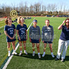Team Captains and the Coin Toss - Granville High School Blue Aces at Columbus Academy Vikings - Tuesday, April 9, 2019