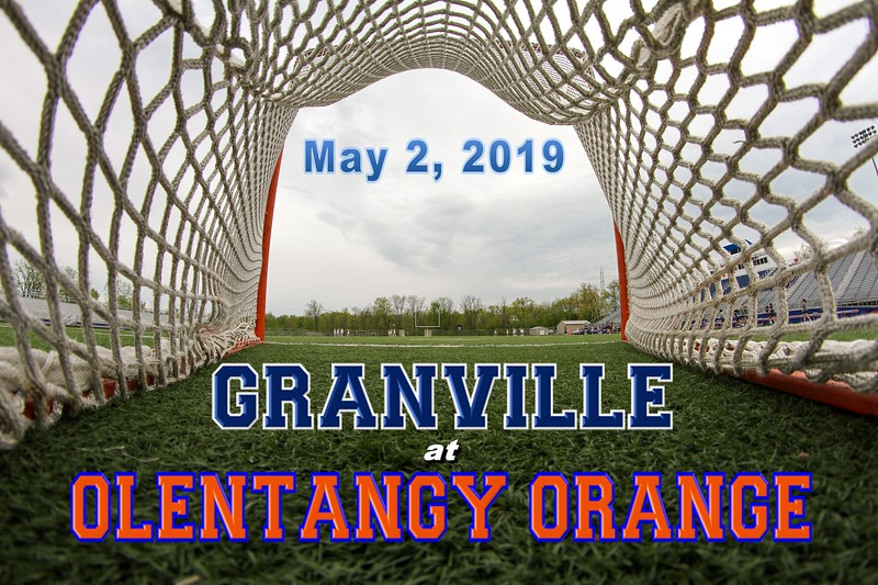 Granville High School Blue Aces at Olentangy Orange High School Pioneers - Thursday, May 2, 2019