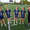 Team Captains and the Coin Toss - Granville High School Blue Aces at Olentangy Orange High School Pioneers - Thursday, May 2, 2019
